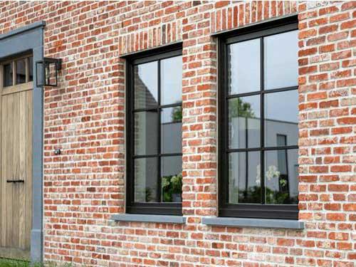 Cửa sổ nhôm kính chia ô đẹp