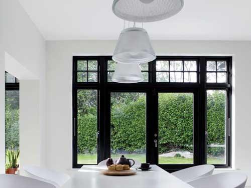 Mẫu cửa nhôm kính đẹp cho cửa sổ